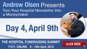 AOlsen - Hospital Fundraising - Newsletter